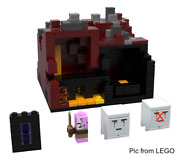 Lego Minecraft 21106 Micro World – The Nether Set With Instructions