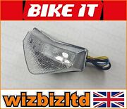 Triumph Tiger 1050 2007-2008 Clear Led Rear Light With Indicators Ledt088