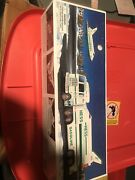 Nib Hess 1999 Toy Truck And Space Shuttle With Satellite - In Original Box