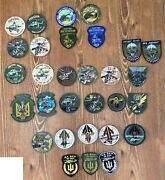 Ukraine Patch Military Army Air Force Helicopter Collection 30 Patches Original