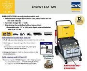 Gys Self Contained Starter + Charger Energy Station 12v 24v Automatic 35- 225ah