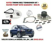 For Volvo Xc90 2.4 Diesel D3 D4 D5 2002-2014 Timing Cam Belt And Water Pump Kit