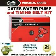 Gates Water Pump And Timing Belt Kit For Toyota Corolla Verso 2.0d-4d 2002-2004