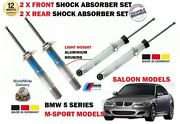 For Bmw 520 523 525 M Sport E60 2003-2010 2x Front And 2 X Rear Shock Absorber Set