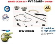 For Z20nhh A20nht A20nft Engine New Timing Chain Kit + Cam Vvt Gear Set + Guides
