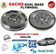 For Citroen C5 1.6 Hdi 2004-on Sachs Dmf Dual Mass Flywheel With Mounting Bolts