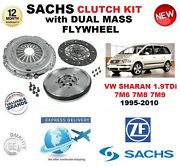 For Vw Sharan 1.9tdi 7m6 7m8 7m9 Clutch Kit 1995-2010 With Flywheel And Bolts