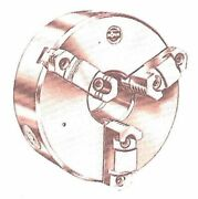 Rohm 100022 3 Jaw Scroll Chuck For Lathes 8 Inch New