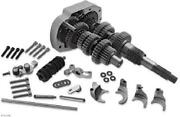 Baker 6-speed Gear Set For Evolution Big Twin Models 3.24 First/.80 Sixth 411g