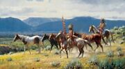 Martin Grelle - New Wealth - Sign And Number Ltd Ed Cnvs - Mint