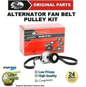 Gates Fan Belt Pulley Kit For Ford Transit Platform/chassis 2.0 Di 2000-2006