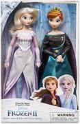 Disney Frozen 2 Queen Anna And Elsa Classic Doll Set Of 2 30cm Action Figure Boxed