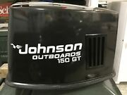Johnson Outboard 150hp Gt Boat Motor Single Color Decals Graphics. 4 Pack
