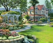 Napa Valley - Howard Behren - Sign And Number Ltd Ed Serigraph - Mint