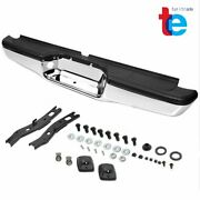 For 95-04 Tacoma Direct Replacement Stainless Steel Rear Step Bumper Chrome