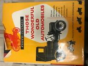 Those Wonderful Old Automobiles By Floyd Clymer 1953 Hardcover W/dust Jacket