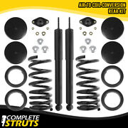 Rear Air Ride To Coil Springs Conversion Kit For 1993-1998 Lincoln Mark Viii