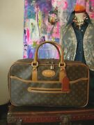 Ultra Rare Vintage Louis Vuitton French Co Fc Suitcase Luggage Keepall Carry On