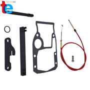New Shift Cable Kit And Adjustment Tools Gasket Set For Omc Cobra 987661