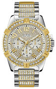 Watch Man Guess Watches Gents Frontier W0799g4 Of Stainless Steel Gold Tone