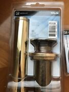 Decolav 9296-pb Gold Grid Drain Without Overflow