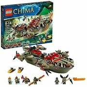 Lego Legends Of Chima Craggerand039s Command Ship 70006 Brand New And Sealed
