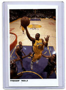 Kobe Bryant  One Of One  2005-06 Topps Front Row Photograph Topps Vault