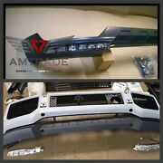 Bumper Lip G Class Front Amg G Wagon Full Set With All Hooks W463 G500 G55 G700