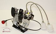 Twin Pedal Drag Racing Pedalbox With Cable Throttle Floor Mount Pe-003-1001