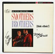 Smothers Brothers Signed Autograph Lp