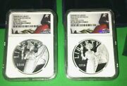 2016 S And W American Liberty Silver Medal Set Ngc Pf70 Ucam Er Matching Labels