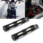 Motorcycle Cnc Rear Front Foot Pegs For Harley Touring Sportster Dyna Softail