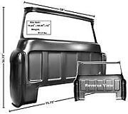 Chevrolet Chevy Pickup Truck Large Window Cab Rear Outer Panel 1955-1959