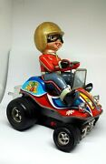 Old Toy Buggie Pop Cross Car Years 70 Brand Ege 70and039s