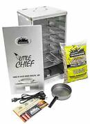 Little Chief Front Load Smoker Kit W/ Alder Wood Chips For Smokers Bbq And Grills