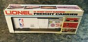 Lionel Nba Eastern Conference Box Car / Freight Carrier O And O27 Gauge 6-9623