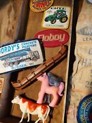 Vintage Junk Drawer Lot My Little Pony Patch Patches Toy Toys Ammo Sack