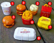 Mcdonalds 1990 Mcdino Changeables Robots-dinosaurs Toys Pick Your Favorites