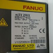 1pcs Used Fanuc A06b-6127-h103 Servo Amplifier Tested In Good Conditionqw