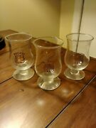 Baileys Irish Cream Tulip Shaped Snifter With Gold Lettering Shot Glass Set Of 3