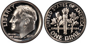 1971 1972 And 1973 Proof Dimes From Us Mint Proof Sets Cp9981