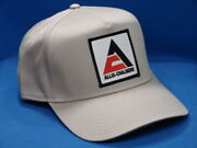 Allis Chalmers Tractor Hat - Tan - Triangle Ac Logo