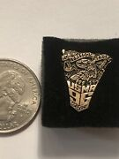 Beautiful Golden Usma Class Of 96 Replica Class Ring Lapel Pin - West Point Army