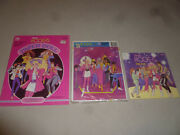 Barbie And The Rockers Lot Frame Tray Puzzle Fan Golden Book Paper Doll Vintage