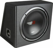 Cerwin-vega Xed Series Single 10andrdquo Car Subwoofer Factory-tuned Vented Enclosure