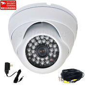 Security Camera 700tvl Ir Night Wide Angle Outdoor With Sony Effio Ccd Cable Ak3