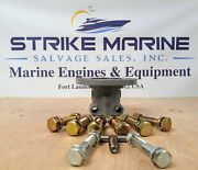 Propeller Shaft Coupling 1.75 Bore 2 Hole Pinch Bolt With Mounting Hardware