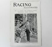 Horse Racing Illustrated 1896 Antique Magazine Falmouth House Newmarket