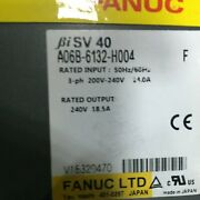 1pcs Used Fanuc A06b-6132-h004 Servo Drive Tested In Good Conditionqw
