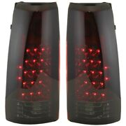 Tail Light For 88-98 Chevrolet K1500 Left And Right Set Of 2